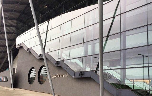 Sage Gateshead NE8 2JR Exterior