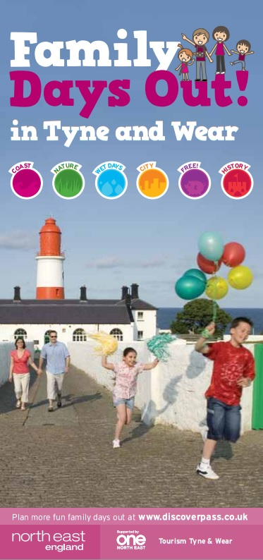 Family Days Out In Tyne And Wear Brochure