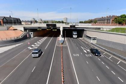 Entrance Of Tyne Tunnel Jarrow South Tyneside