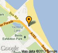 Ocean Beach South Shields Map