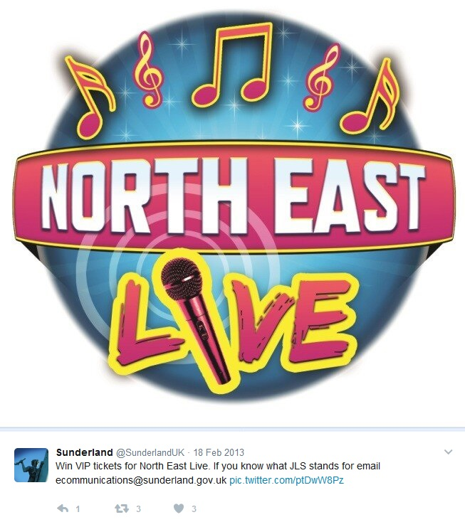 Win VIP tickets for North East Live