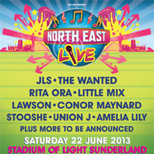 North East Live 2013 Flyer