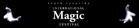 South Tyneside International Magic Festival Banner