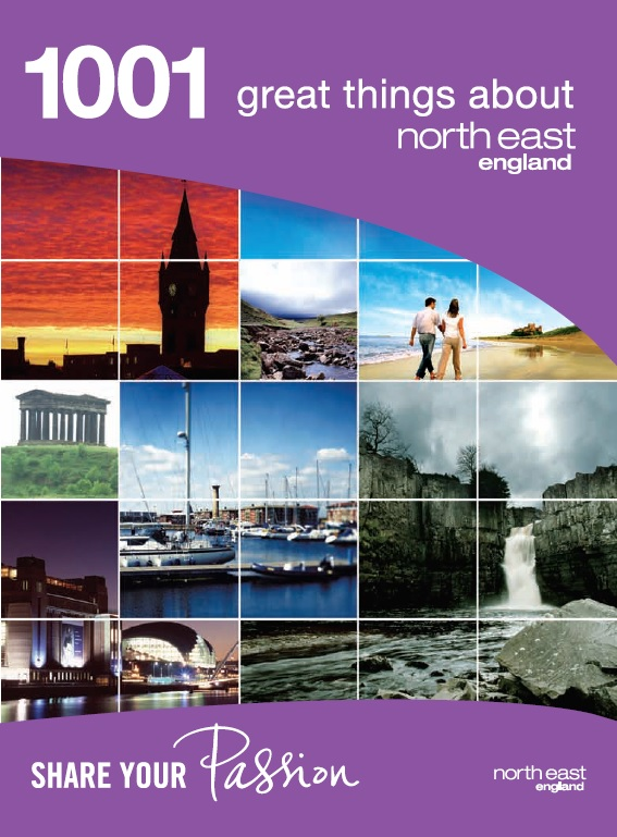 1001 Great Things About North East England Guidebook