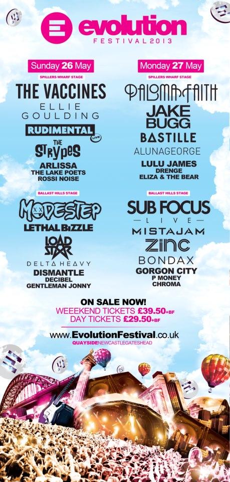 Evolution Festival 2013