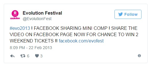 Evolution Festival 2013 Competition