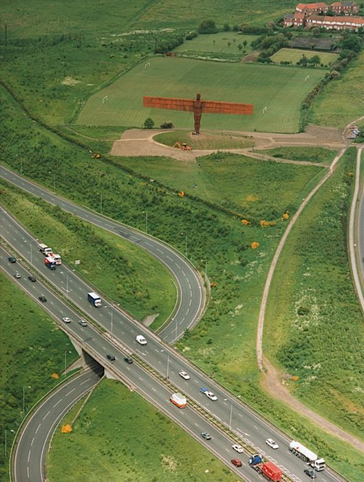 Gateshead's Angel of the North NE9