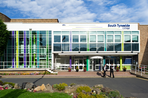 South Tyneside College Entrance