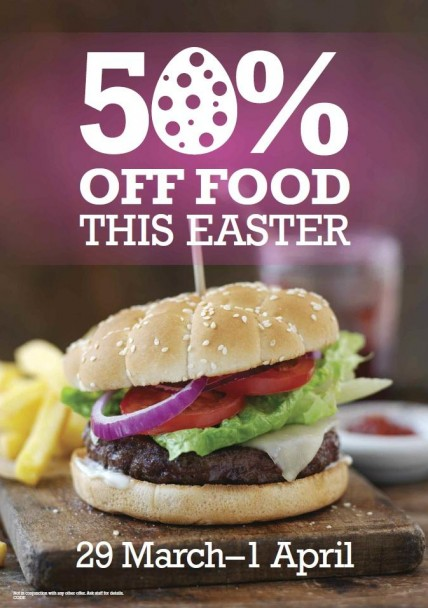 Kirkpatricks Ocean Road South Shields Easter Food Offer