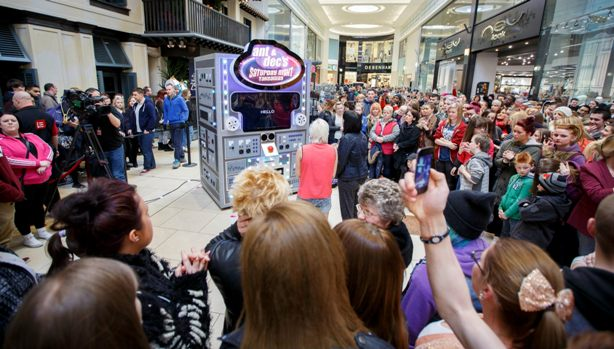Super Computer Visits Eldon Square Newcastle