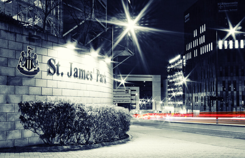 Newcastle United St James' Park Exterior