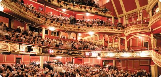 Sunderland Empire Theatre on High Street West Interior