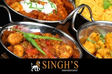 Singh's Indian Restaurant Leazes Park Newcastle upon Tyne NE4