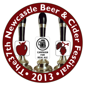 Tyneside And Northumberland Beer and Cider Festival 2013 Logo