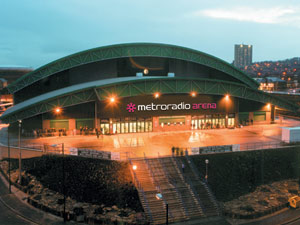 Metro Radio Arena Newcastle Upon Tyne NE4 7NA