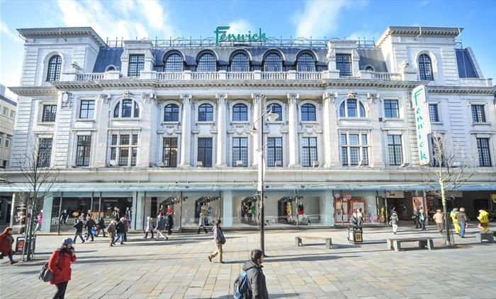 Fenwick Department Store Northumberland Street Newcastle upon Tyne NE99 1AR Exterior