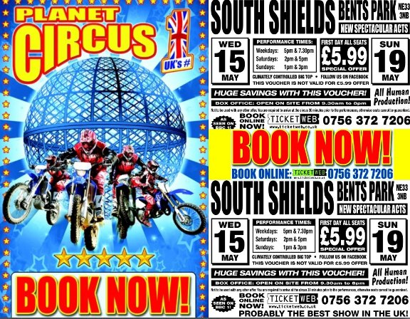 Planet Circus Bents Park Sea Road South Shields NE33 2LD
