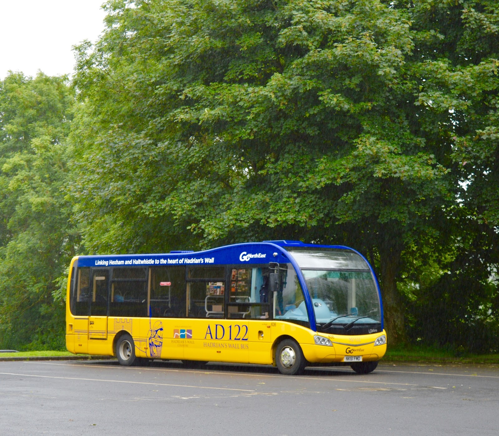 Hadrian S Wall Bus Ad122 Timetable Fares 2019