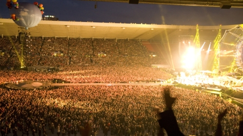 Concert At The Stadium of Light in Sunderland