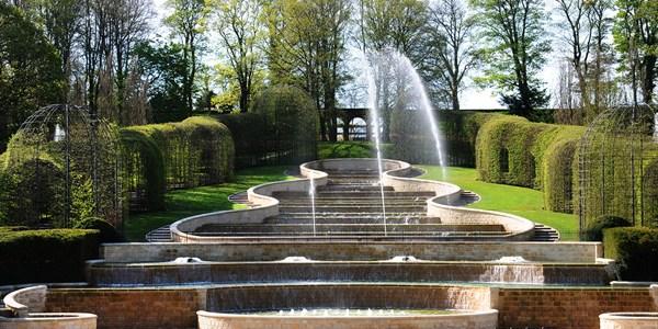 Alnwick Garden In Northumberland