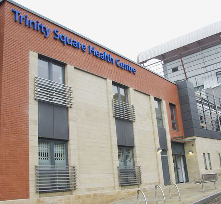 Trinity Square Health Centre in Gateshead