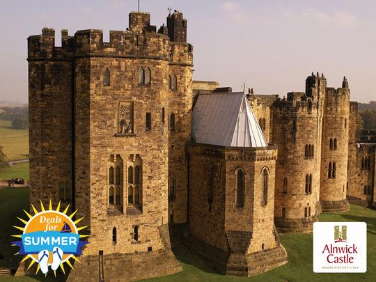 Alnwick Castle In Alnwick Northumberland