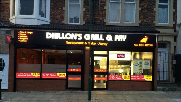 Dhillon's Grill and Fry 325 327 Laygate South Shields NE33 4JB
