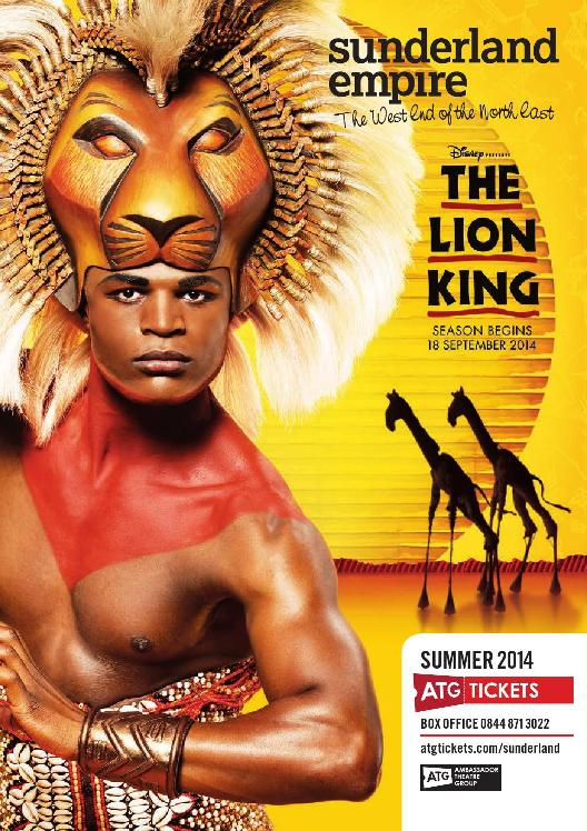 Sunderland Empire Theatre What's On Summer 2014 Cover