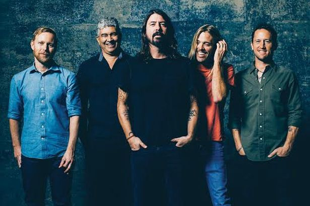 Foo Fighters At Sunderland Stadium Of Light