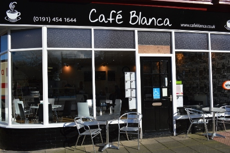 Cafe Blanca Harton Village South Shields Exterior
