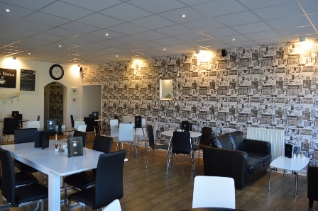 Cafe Blanca Harton Village South Shields Interior 1