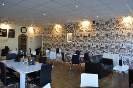 Cafe Blanca Harton Village South Shields Interior 1