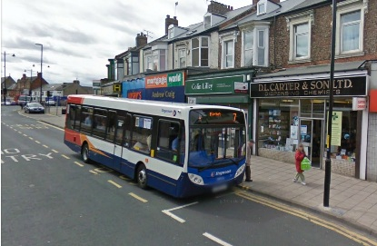 20 Bus Fowler Street South Shields