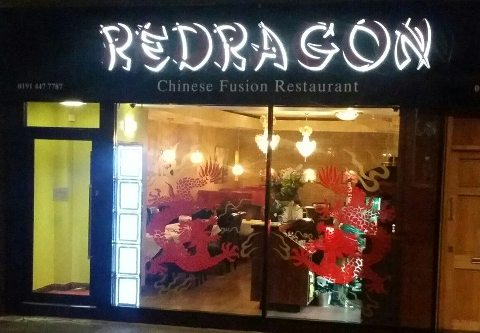 Redragon Chinese Restaurant Burrow Street South Shields NE33 1PP Interior