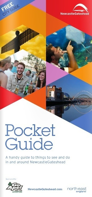 Newcastle Gateshead Pocket Guide 2015 Cover