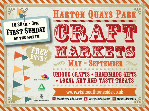Harton Quays Craft Markets 2015 Flyer