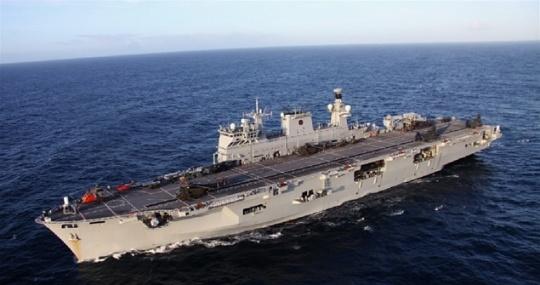 Sunderland's Adopted Warship HMS Ocean