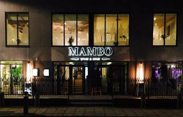Mambo Wine and Dine Winchester Street South Shields NE33 2PS Exterior