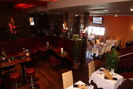 Orangegrass Thai Restaurant In South Shields Interior