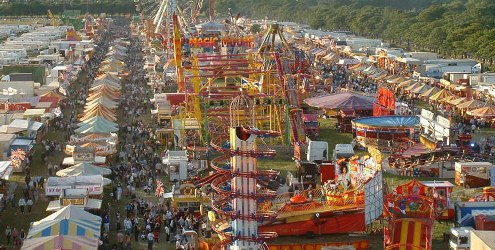 The Hoppings Newcastle upon Tyne Town Moor
