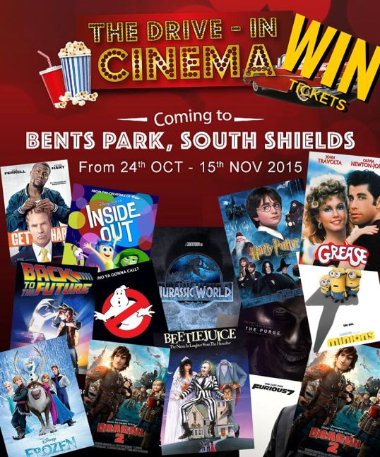 Bents Park South Shields Drive In Cinema 2015