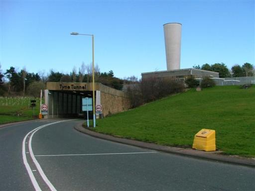 Tyne Tunnel Jarrow South Tyneside