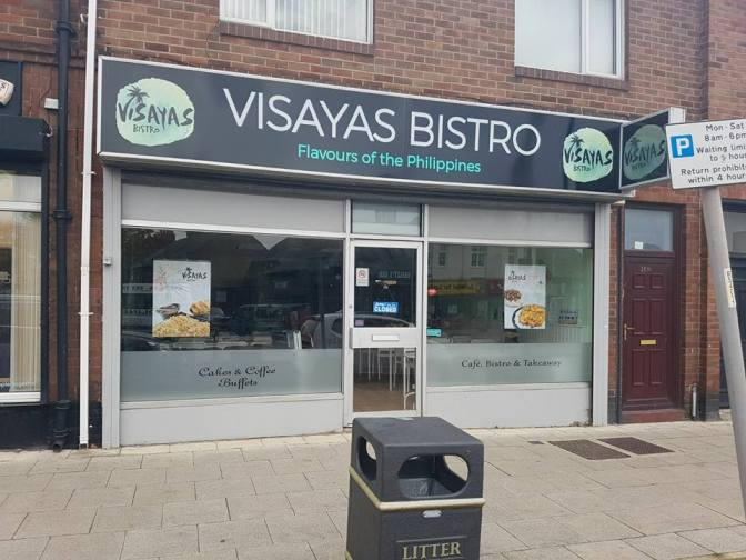 Visayas Bistro 289 Sunderland Road South Shields NE34 6RB Exterior