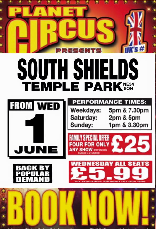 Planet Circus At Temple Park Leisure Centre In South Shields NE34 8QN