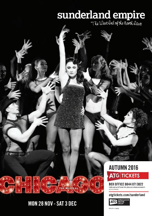 Sunderland Empire Theatre What's On Autumn 2016 Cover