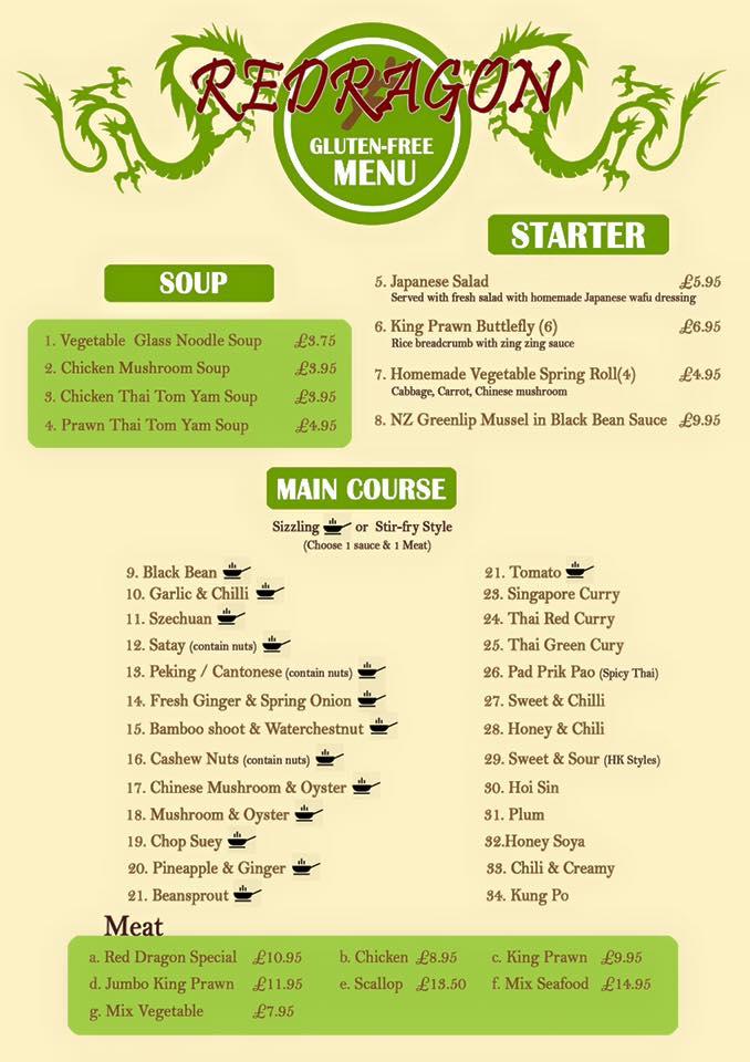 Gluten free chinese restaurant in south shields - Blog cuisine ss gluten ...