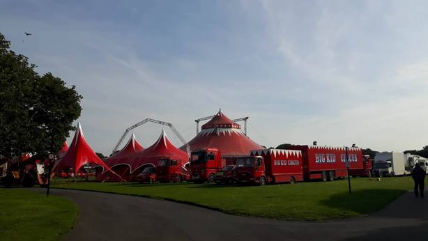 Big Kid Circus At Bents Park In South Shields