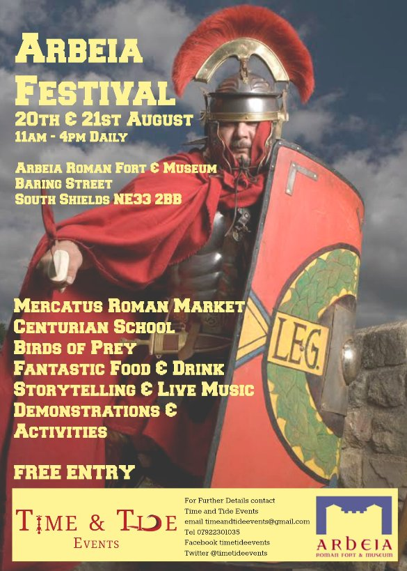 Arbeia Festival At Arbeia Roman Fort Baring Street South Shields NE33 2BB