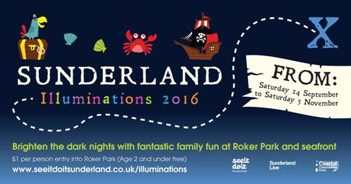 Sunderland Illuminations 2016