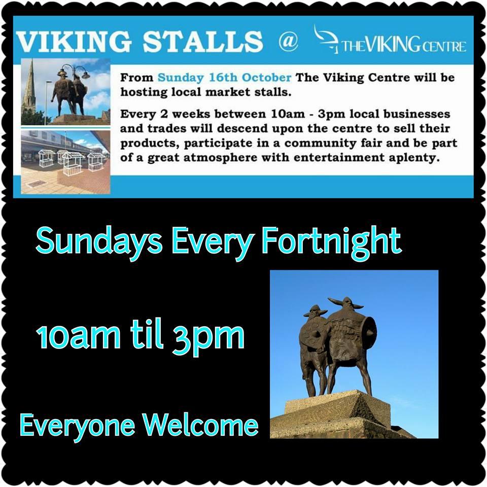 Jarrow Market aka Viking Stalls